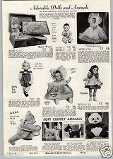 1941 PAPER AD Doll Dolls Betsy Wetsy Princess Beatrix Poppa Momma Betty Big Girl