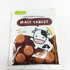 Malt Tablet Milk Candy Healthy Chewy ROSCELA Kids Yummy Sweetened 20g x 6 packs