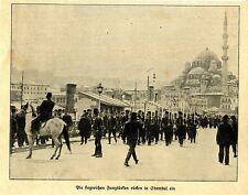 Türkei * Die siegreichen Jungtürken rücken in Stambul ein *  Bilddokument 1910
