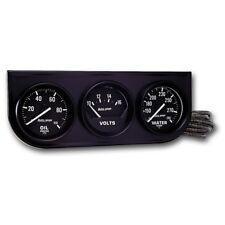 Auto Meter AutoGage 3-Gauge Console 52.4mm Mech Oil Press/ V / Deg Water Temp