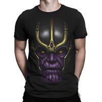 Thanos Face T-Shirt, Avengers Infinity War Tee, Men's Women's All Sizes
