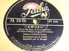 78T-MISSION OGOOUE CONGO-CHERI-AWOKO-MOYEN CONGO 1946-PATHE PA 2570