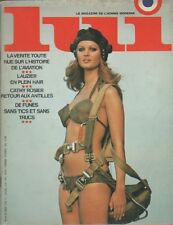 """LUI n°69 octobre 1969"" ELSA aviatrice par Francis GIACOBETTI"