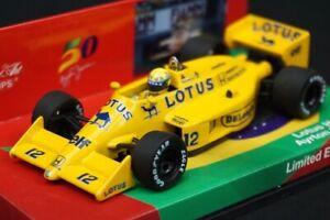 1:43 MINICHAMPS 413870012 Racing Gear / RG Limited Lotus Honda 99T A. Senna 1987