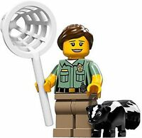 LEGO 71011 Minifigures Series 15 - HEAD OF ANIMAL CONTROL - NEW SEALED PACKET