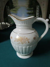 "ROYAL ALBERT OLD COUNTRY ROSES GOLD ENGLAND FLUTED ROSES PITCHER 11 ""  NIB [*a4]"
