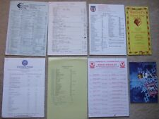 souvenir list grimsby town c1980/71