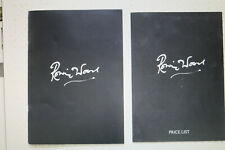 Neues AngebotRONNIE WOOD signed BROCHURE & PRICE LIST from GENESIS PUBLICATIONS