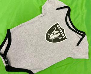 B600/90 NFL Las Vegas Raiders Baby-Grow Bodysuit 24 months