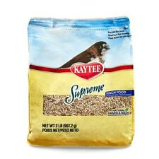 Kaytee Supreme Bird Food for Finches, 2 lb