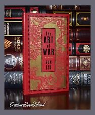 The Art of War by Sun Tzu New Deluxe Leather Bound Collectible Pocket Edition