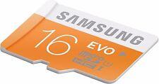 Samsung 16GB EVO Plus Micro SD SDHC UHS-I Class 10 Memory Card- Upto 48MB/S