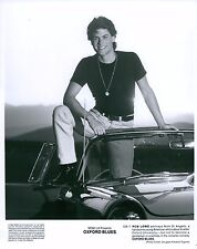 Rob Lowe (1984) Oxford Blues Unsigned 8x10 B&W Glossy Movie Promo Photo (I)
