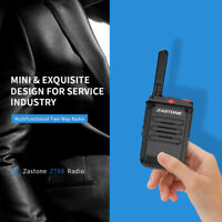 Zastone ZT68 Portable Radio UHF 400-470MHz Two Way Ham Walkie Talkie 16 Channels