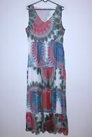 Desigual 45V2855 womens maxi dress Size XL