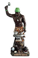 13 Inch Orisha Ogun Statue Santeria Yoruba Lucumi African God Oggun
