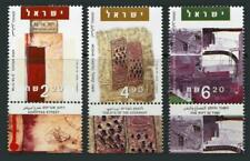 Israel: 2005 Paintings (1605-1607) With Tabs MNH
