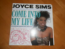 JOYCE SIMS - COME INTO MY LIFE! VG++  COLLECTORS ORIGINAL 1st PRESS GERMANY