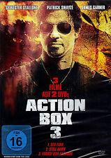 Action Box - Volume 3 -  3 Filme auf 2 DVD´s - neu - Sylvester Stallone....