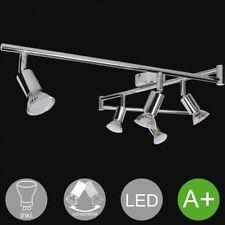 6 Flammiger LED Strahler Spots Deckenlampe Mit Leuchtmittel Decken Leuchte Lampe