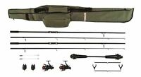 Mitchell GT Pro Complete Ready To Fish Carp Fishing Combo Set