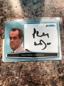 Philip Madoc Big Screen Doctor Who Signed A6 Autograph Card Rare