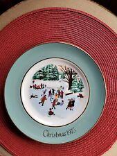 Avon Christmas Plates /1975/1976/1977