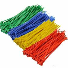 200 x NYLON PLASTIC CABLE TIES NATURAL ZIP TIE WRAPS 2.5mmx100mm HEAVY DUTY TIES