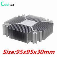 DIY LED Heatsink 30w-100w Pure cooling cooler Light for radiator sink heat