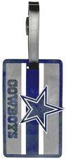 DALLAS COWBOYS SOFT BAG TAG FOOTBALL LUGGAGE NFL ID INFORMATION TRAVEL