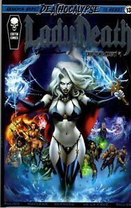 Lady Death: Cataclysmic Majesty # 1 (Signed) Kickstarter Bundle