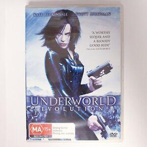 Underworld Evolution Movie DVD Region 4 AUS Free Postage Action Kate Beckinsale
