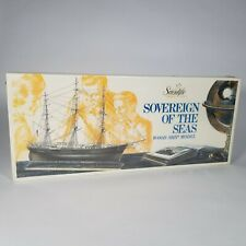 New ListingVintage Scientific 'Sovereign of the Seas' Wood Ship Model - Nos Sealed Usa