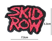 SKID ROW MUSIC BAND PATCH IRON OR SEW ON EMBROIDERED BADGE LOGO