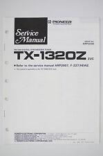 PIONEER TX-1320Z Original Tuner Service-Manual/Schaltplan/Schematic Diagram o120