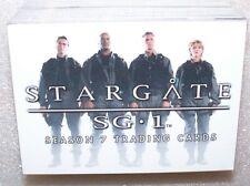 STARGATE SG-1 Season 7   Trading Card Set