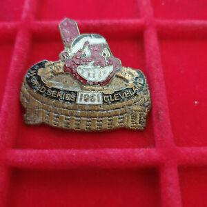 1951 Cleveland Indians Phantom World Series Press Pin
