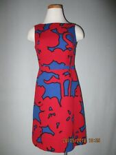 b765a4deebf Moschino Bold Floral Print Cotton Shift Dress Size 40   4 Excellent!