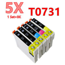 5X Generic 73 T073 T0731 ink Cartridge for Epson CX3900 CX4900 CX5500 CX8300