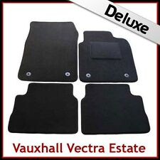 VAUXHALL VECTRA C Estate 2002-2008 Tailored LUXURY 1300g Carpet Car Mats BLACK