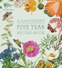 RHS A Gardener's Five Year Record Book, RHS
