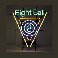 "New Eight Balls Billiards Beer Man Cave Neon Light Sign 17""x14"""