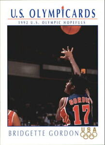 1992 Impel U.S. Olympic Hopefuls #20 Bridgette Gordon Basketball