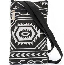 Tiny Very Small Abstract Print Hip Mobile Messenger Bag