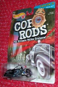 Hot Wheels Cop Rods Scorchin' Scooter Charleston, South Carolina  Police
