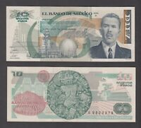 MEXICO  P.95  10 NUEVOS PESOS 1992 SERIE A  ALMOST UNCIRCULATED  WE COMBINE