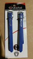 NEW Christophe Leather Pedal Toe Straps 370mm long - PAIR - RETRO (Zefal)