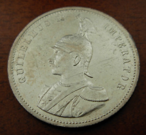 German East Africa 1913 A Silver 1 Rupie Circulated
