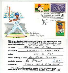 Handpainted Baseball Event BO JACKSON KANSAS CITY ROYALS + 855 1381 + 10 Made!