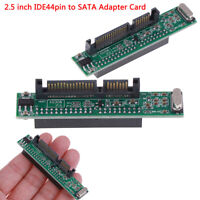 IDE 44 Pin to SATA Laptop Adapter, Convert 2.5 Inch IDE HDD Hard Disk  W4EXATMO